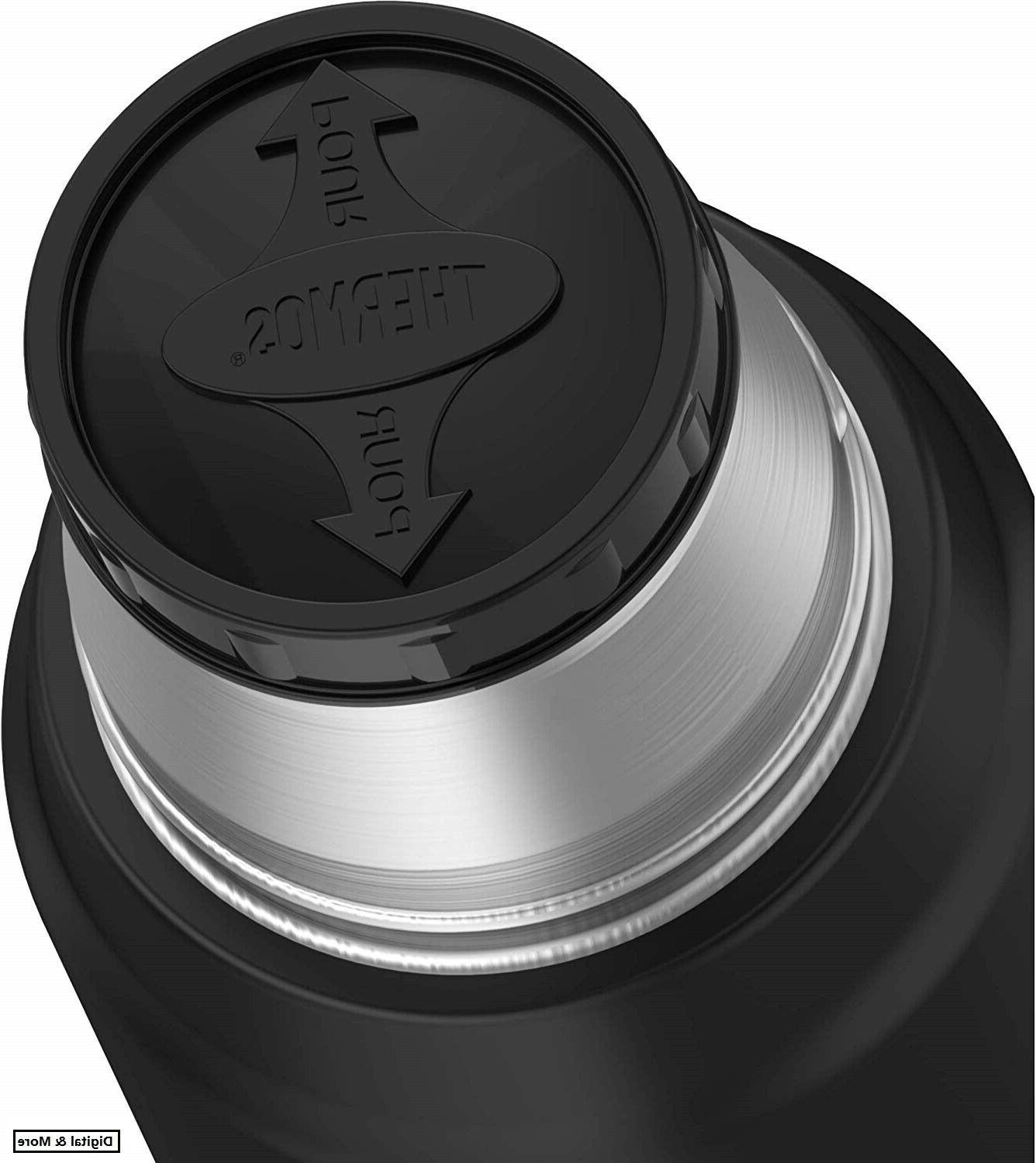 Thermos Vacuum 16-Ounce, Black