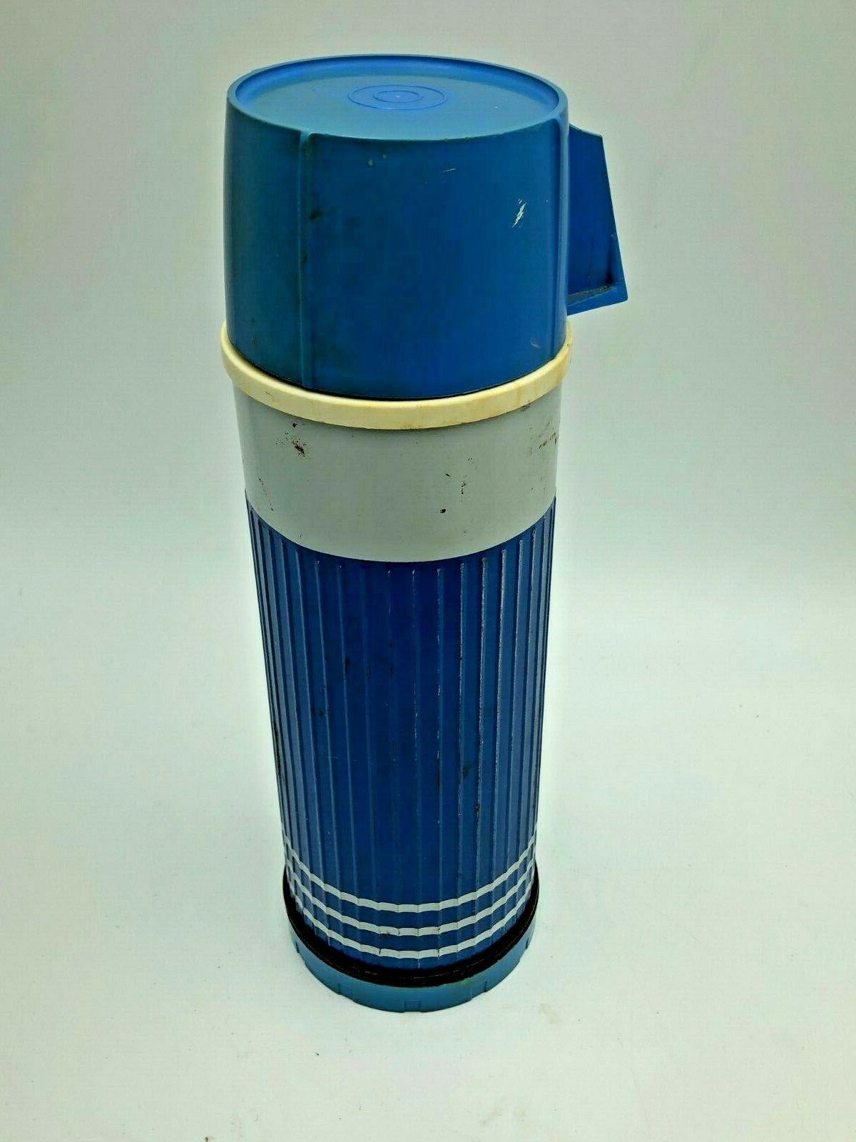 "Vintage D94-BG 9P Thermos Blue Grass Kitchen to 10""H"