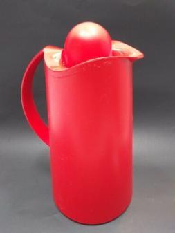 Alfi La Ola Design Julian Brown London red insulated pitcher