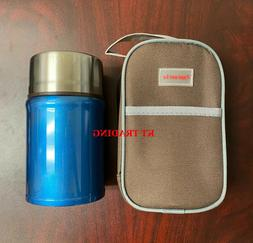 LARGE Thermos Vacuum Insulated Stainless Steel Food Jar Cont