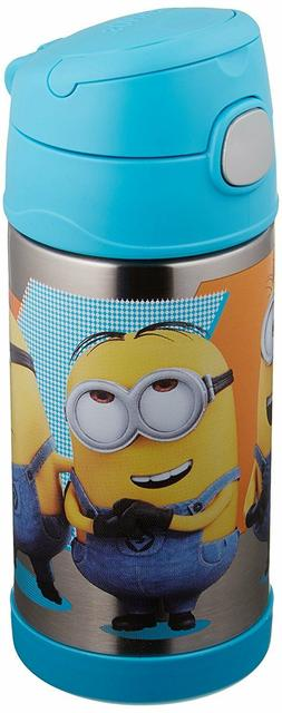 MINIONS THERMOS FUNTAINER 12OZ BOTTLE Container stainless