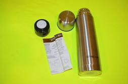 Mr Coffee  Stainless Steel 16 oz Thermos Flask Travel Vacuum