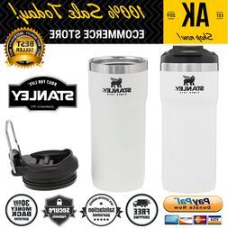 New Portable Twin Lock Travel Mug Stanley Matte White Double