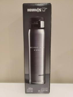 NEW Zojirushi Stainless Hot Cold 600ML 20OZ SM-SD60-XA Therm