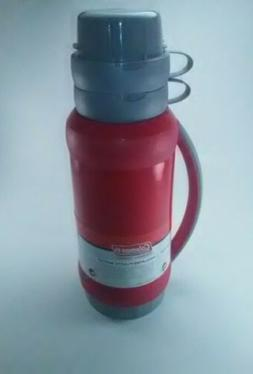 NWT Coleman Insulated Plastic Vacuum Thermos Bottle 1.75 QT