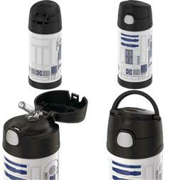 Thermos R2D2 12-Ounce Funtainer Star Wars Classic Bottle, R2