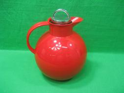 Alfi Red Thermal Carafe ~ Germany ~ Thermos Coffee ~ Tea ~ 0