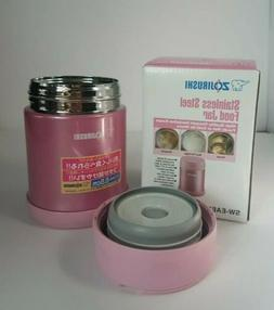 * Shiny Pink *. Stainless Steel Food Jar* Zojirushi SW-EA