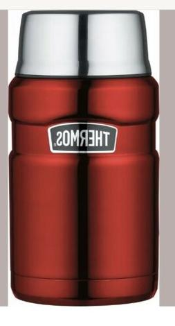 Thermos Stainless King 24 Ounce Food Jar Cranberry