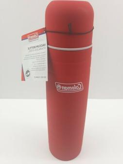 Coleman Stainless Steel 32 oz Thermos Flask Vacuum Bottle Re
