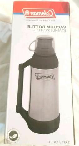 Coleman Stainless Steel 64oz  Black Vacuum Insulated Water B