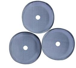 MIRA Stainless Steel French Press Filters, Set of 3, Fits Mo