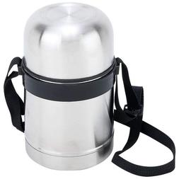 Stainless Steel 17 oz Vacuum Soup Container with Carrying St