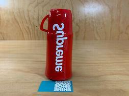 SUPREME x HELIOS THERMOS PLASTIC RED BOX LOGO BOGO FW14 2014