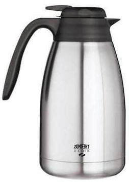 THERMOS TGS15SC Vacuum Insulated Carafe,Lever Lid,50 oz