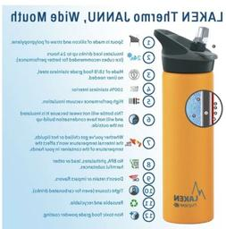 thermo vacuum insulated stainless steel leak free