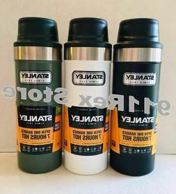1 Stanley Thermos Vacuum Travel Mug/ Open One-Handed Hand Tr