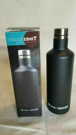 Asobu Times Square Vacuum Insulated Water Bottle WhiskeyTail