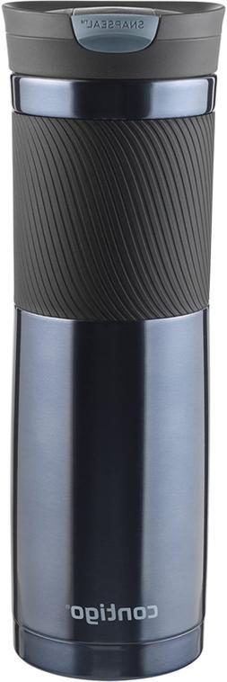 Travel Mug Seal Lid Stainless Steel Thermos Coffee Tea Vacuu