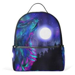 JSTEL Unicorn Magic With Stars School Backpack 1th 2th 3th G