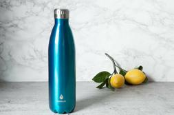 Manna Vacuum Insulated Bottle Water Drink Safe Retro Stainle