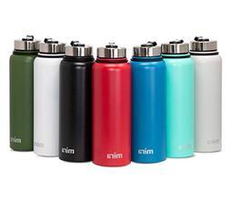 MIRA Vacuum Insulated Powder Coated Water Bottle   Double Wa