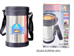 Cookinex Vacuum Stainless Steel Food Jug Flask Jar Wide Mout