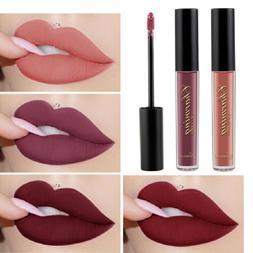 Women 12 Color Liquid Matte Waterproof Lipstick Lasting Lip